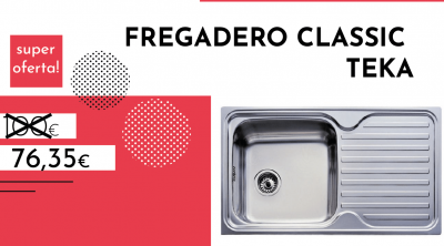 fregadero classic teka